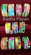 Radha Pyari Multi Color Designer Glass Bangles