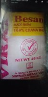 100 % Chana Dal Besan With 20kg Weight