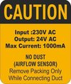 Silicon Safety Labels Stickers