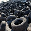 Black Color Car Tyre Scrap