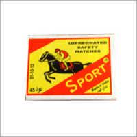 Sports Impregnated Match Box