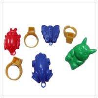 Promotional Plastic Animal Finger Rings