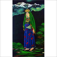 Tibetan Woman Oil Painting