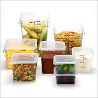 Food Storage Plastic Jars
