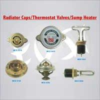 Radiator Cap Thermostat Valves Sump Heater