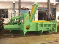 metal scrap baling press machine