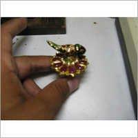 Beautiful Jadau Gold Ring