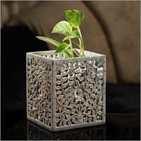 Carved Stone Artistic Planter