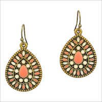 Gold Plated Costume Earrings