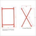 H Frame & Cross Bracing