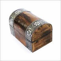 Oxidised Silver Jewelery Box