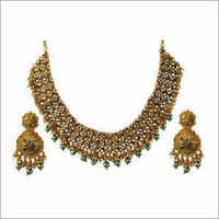 Maharani Necklace With Ear Rings