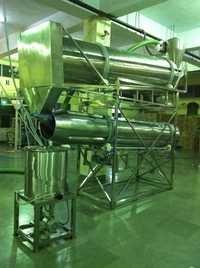 Snacks System With Dryer Roaster, Oil Tank Etc