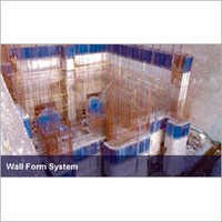 Plywood Wall Form System