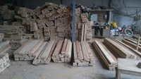 Treated Rubber Door Wood