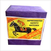 Wooden 10 Match Box Packing
