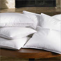 White Plain Fiber Pillow