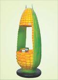 Fiber Body Steam Corn Machine