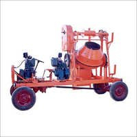 Lift Type Concrete Mixer With Gear System