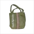 Designer Handle Jute Pouch Bag