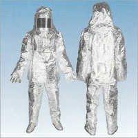 Aluminized Glass Fibre Suit