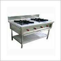 Stainless Steel Two Burner