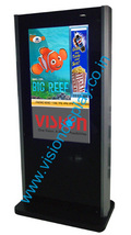 Customized Vertical Lcd Display Stand