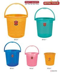 Frostly Plastic Bucket With Handle