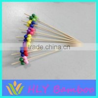 Bamboo Ice Cream Stick Hook Walking Marshmallow Sticks Wholesale
