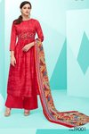 Deepsy Belista Pure Cotton Satin Print With Self Embroidery Suits
