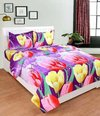 Designer Printed Double Cot Bed Spread