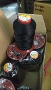 Black Polyester Sewing Thread
