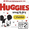 Huggies Snug And Dry Diapers, Size 2 (12-18 Lb.) 228 Ct