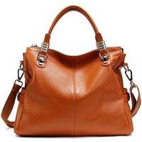 Casual Wear Plain Ladies Fancy Brown Bag