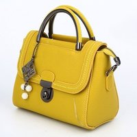 Party Wear Leather Ladies Fancy Hand Bag