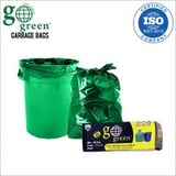 Small Size Oxo Biodegradable Green Garbage Bag