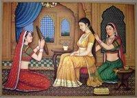 Elegant Look Canvas Oil Paintings