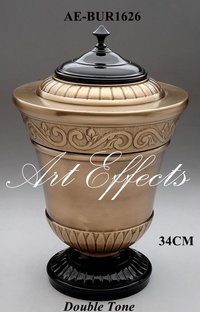Handcrafted Solid Brass Funeral Urn