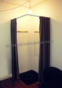 Changing Or Trail Room Curtain Rod