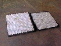 Ceramic Impact Chute Liner