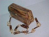 Bamboo Fashion Bag Square Shape
