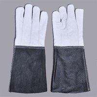 Leather Gauntlet Hand Gloves