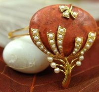 Designer Coral Gemstone Bracelets