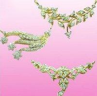 Designer Diamond Chain Pendant Set
