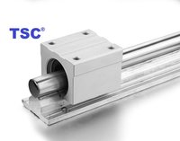 Linear Shafts With Aluminium Bottom Support And Linear Bearing