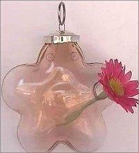 Decorative Star Shape Glass Flower Vases