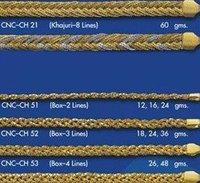 Designer Braided Gold Chains