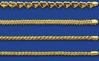 Handmade Yellow Gold Chains