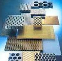 Perforated Heavy Metal Sheets