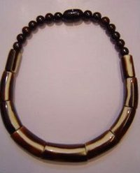 Handmade Tribal Wooden Necklace
